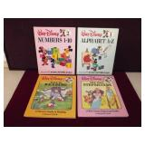 Disney Learning Books Lot of 4