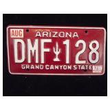 Arizona Grand Canyon State License Plate