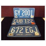 Michigan Great Lakes Plates