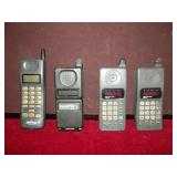 Vintage Cell Phones, Lot of 4