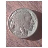 1935 Buffalo Nickel Indian Heal