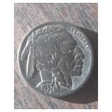 1937 Buffalo Nickel Indian Head