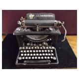 Antique L.C Smith & Bros Typewriter