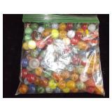 Bag of Vintage Marbles