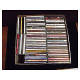Box Full of CDs Mixed Genre