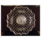 Vintage Syroco 8 Day Jeweled Movement Wall Clock