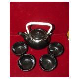 Asian Tea Set 5 Piece Set