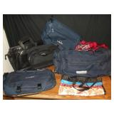 Duffle Bags and Travel Bags Lot of 7