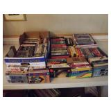 Huge Lot of VHS Tapes Mixed Genre