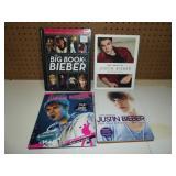 Justin Bieber Books-Lot of 4