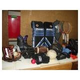 Large Lot of Youth Sports Equipment