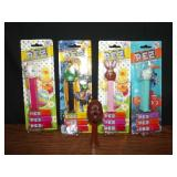 Lot of 5 Pez Dispensers - 4 Are New