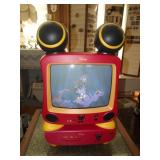 Mickey Mouse TV & DVD Player w/Remotes