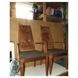 Six Cane Back Chairs for Repair