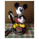 Vintage Telemania Mickey Mouse Animated Telephone