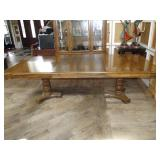 Vintage Thomasville Dining Table with Two Leaves