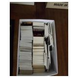 Box of Basketball Cards - Over 1,000 Cards