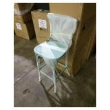 Farmhouse Barstool Teal