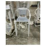 South Miami Beach Bar Stool - Gray