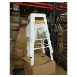 Manhattan Bar Stool - White