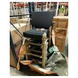 Lot Of 4 Outdoor Chairs