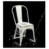 Manhattan Side Chair - White Distressed -Qty 9