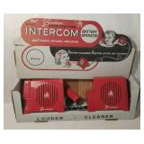 Brumberger No. 255 Double Station Intercom Big 4""