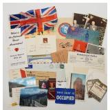 Ephemera - Travel Airline Tags, Britain, England R