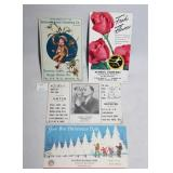 Advertising Postcards Hatfield National Bank Xmas