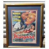 Marilyn Monroe Niagara Technicolor Movie Print Fra