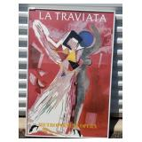 La Traviata at the Met Marino Framed Print