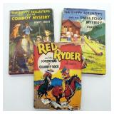 1951 Red Ryder & 2 Happy Hollister Books