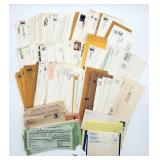 Vintage USPS Envelopes, Post Marked City Services