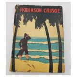 Robinson Crusoe Hardcover Book McLoughlin Bros.
