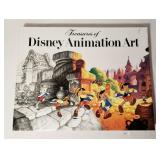 Treasures of Disney Animation Art 1982 First Ed -