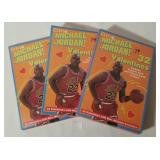 Vintage Michael Jordan Kids Valentines Day Card Pa