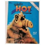 1988 April Issue 4 What Hot Magazine ALF Cover