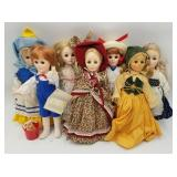 1985 Effanbee Plastic Dolls Jack & Jill, Mother Go