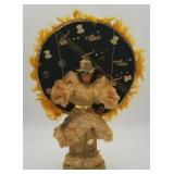 Philadelphia Mummer Doll Gold Glitter Male
