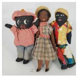 Black Americana Cloth Dolls & Maria Teressa Haiti