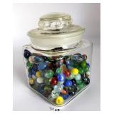 Candy Jar of Marbles