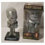 Funko Iron Man Mark II & Wacky Wobbler Iron Man