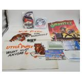 RBI Baseball Booklet, Humorous Tiger Wall Hanging+