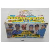 Fleer Major League 24 Ct Box Baseball