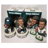 Group lot of (6) Donovan McNabb Bobblehead Figures