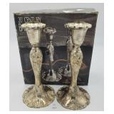 "20th Century Baroque By Godinger 8"" Silverplated"