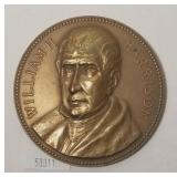 William H. Harrison Bronze Inaugural Medallion