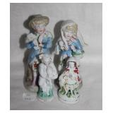 Victorian Children w Ice Cream Figurines 1441 & Ot