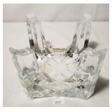 Chantal Glass Fire & Ice Fondue Set Base Only