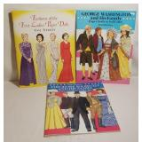 Paper Doll Collection - Roosevelt, Washington, Fir